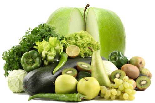 меню зелёной диеты